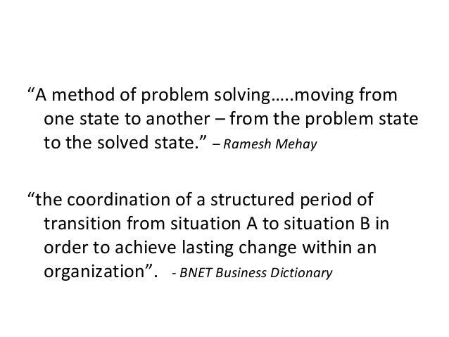 Managing Change: The Role of HR Slide 3