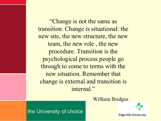 the changes in management theories Toward a theory of business process change management william j  kettinger and varun grover guest editors william j kettinger is  director of.