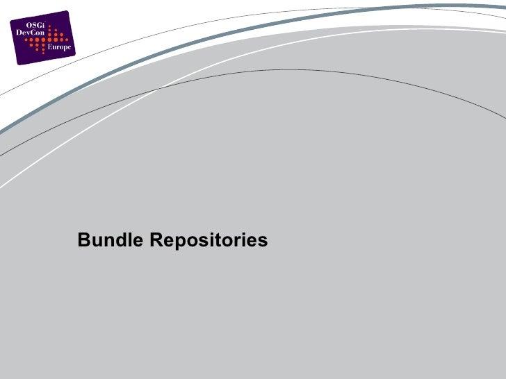 Bundle Repositories