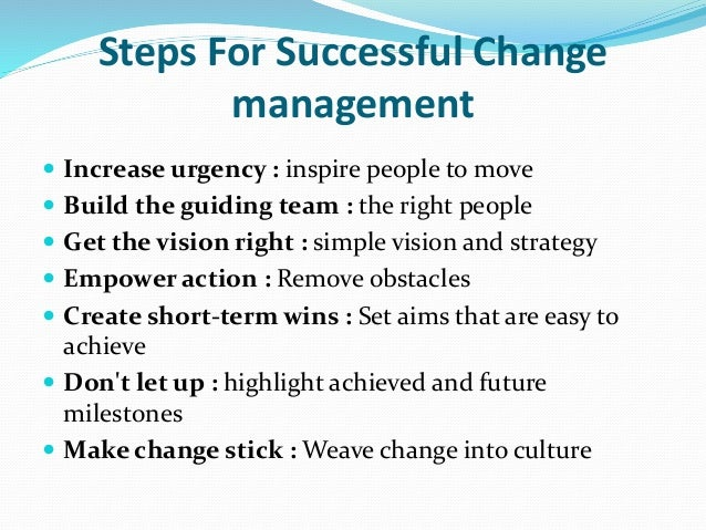 planned versus emergent change The executives leading the organization can simply create a plan and understanding the concepts of intended, emergent, and realized strategies is important a successful realized strategy was driven almost entirely by opportunistically capitalizing on change through emergent strategy.