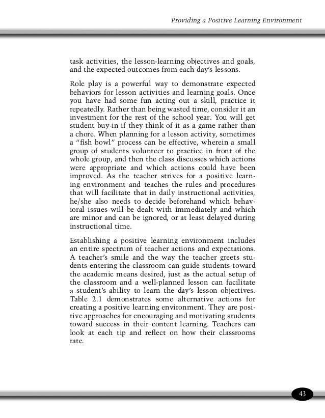 Managing Classroom Behavior And Discipline Jim Walters Et All