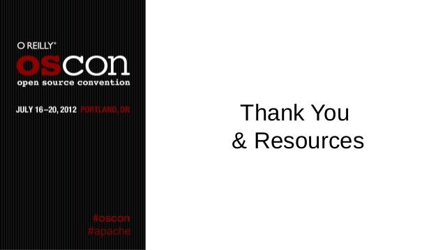 Thank You          & Resources#apache