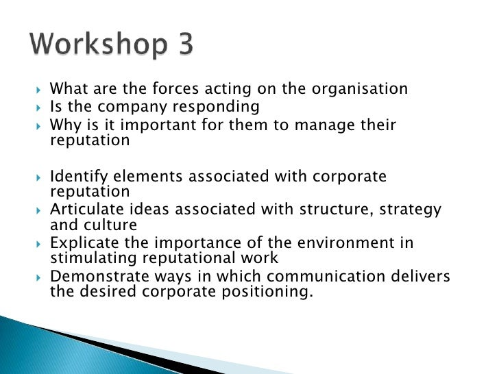 What are the forces acting on the organisation<br />Is the company responding<br />Why is it important for them to manage ...