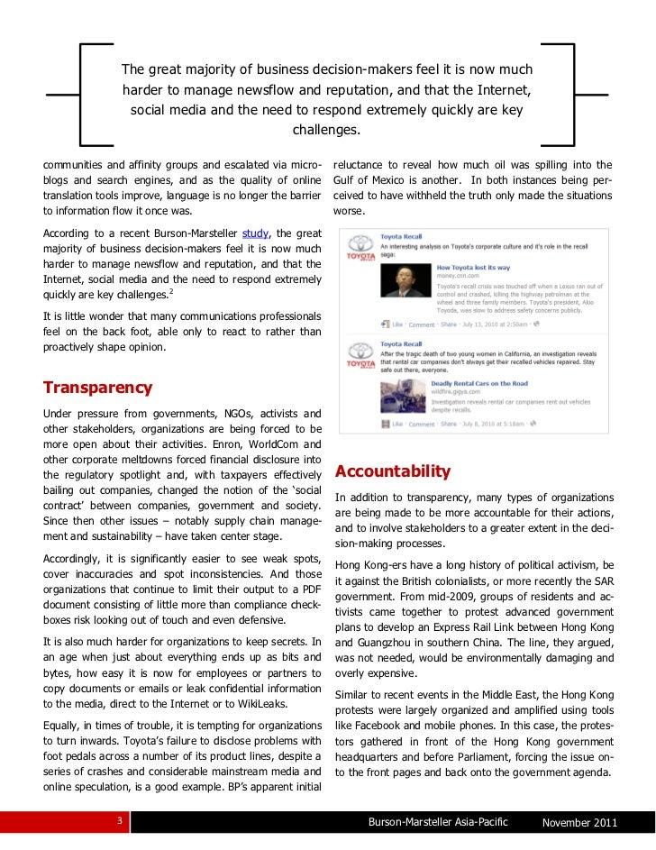 Managing Corporate Reputation In The Digital Age Slide 3