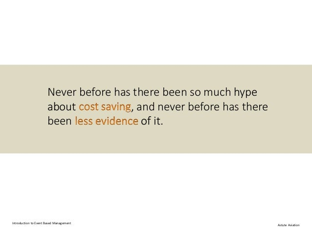 Managing Costs We Don't Understand Slide 3