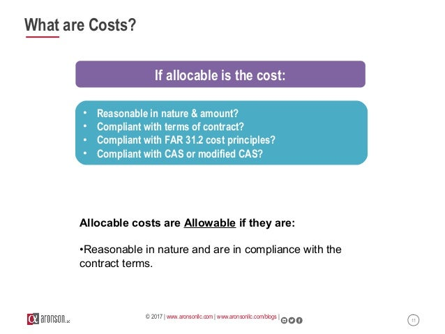 Webinar: Managing Cost Type Contracts