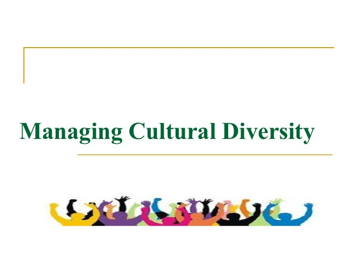 Advantages of Cultural Diversity in the Workplace