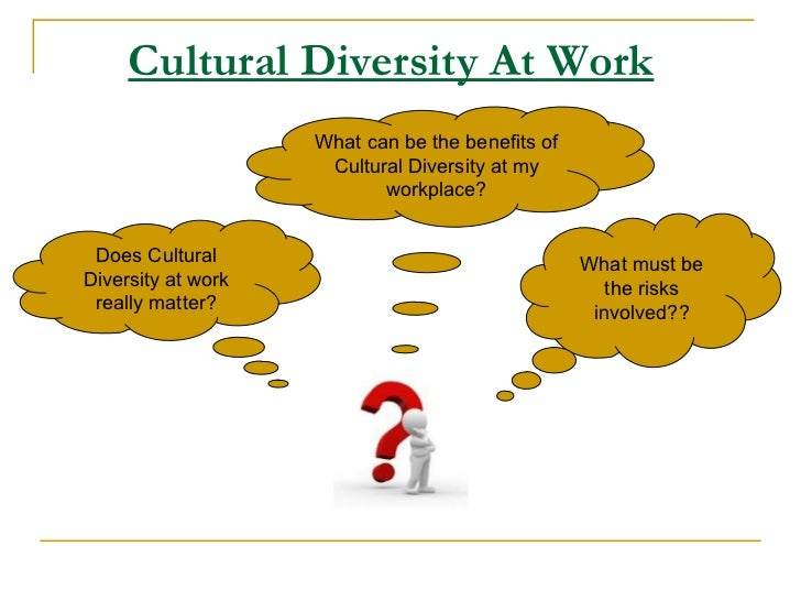 managing cultural diversity Sonal, cultural, and  managing workplace diversity: issues and challenges  managing diversity in the workplace now it is in this context.