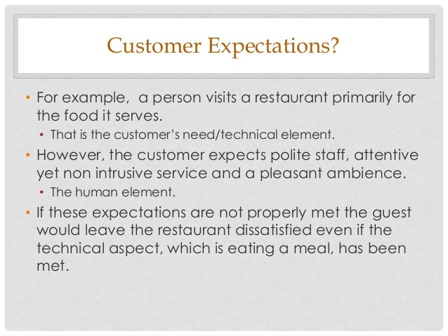 customer expectations and customer service New research on customer expectations reveals new cio mandate  customers  expect companies to provide new products and services more.