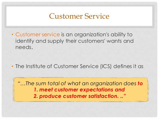 customer needs and expectations 10 understanding customer needs how to understand a customer's needs - duration: 3:07 needs and expectations of your customer - duration.