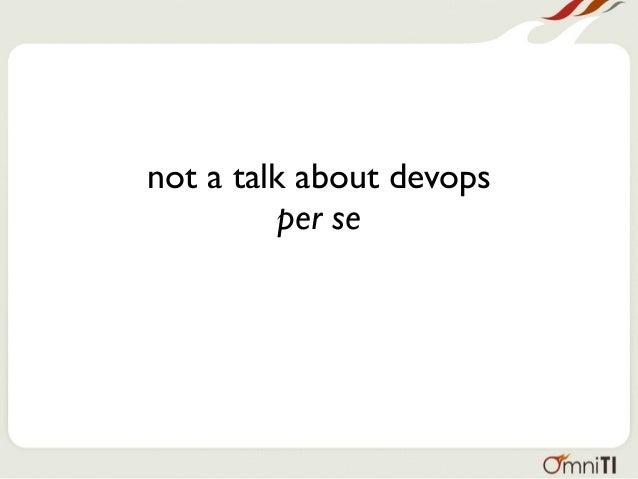 Managing Databases In A DevOps Environment 2016