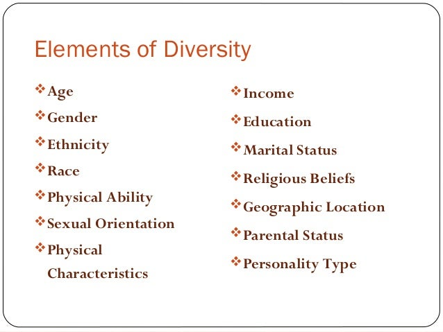 example of managing diversity in the workplace