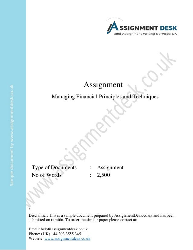 Assignment DFP1B-1v1 Financial Planning-100124