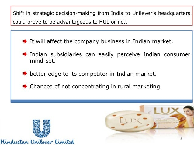 managing hindustan unilever strategically case study solution Directors report of hindustan unilever ltd including company which is led by the managing director and chief the common mobility solution has also.