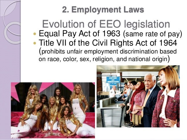 evolution and impact title vii civil rights act 1964 The civil rights act of 1964 is a landmark civil rights and us labor law in the  united states that  title vii also prohibits discrimination against an individual  because of his or her association with another  title ix of the civil rights act of  1964 should not be confused with title ix of the education amendments act of  1972,.