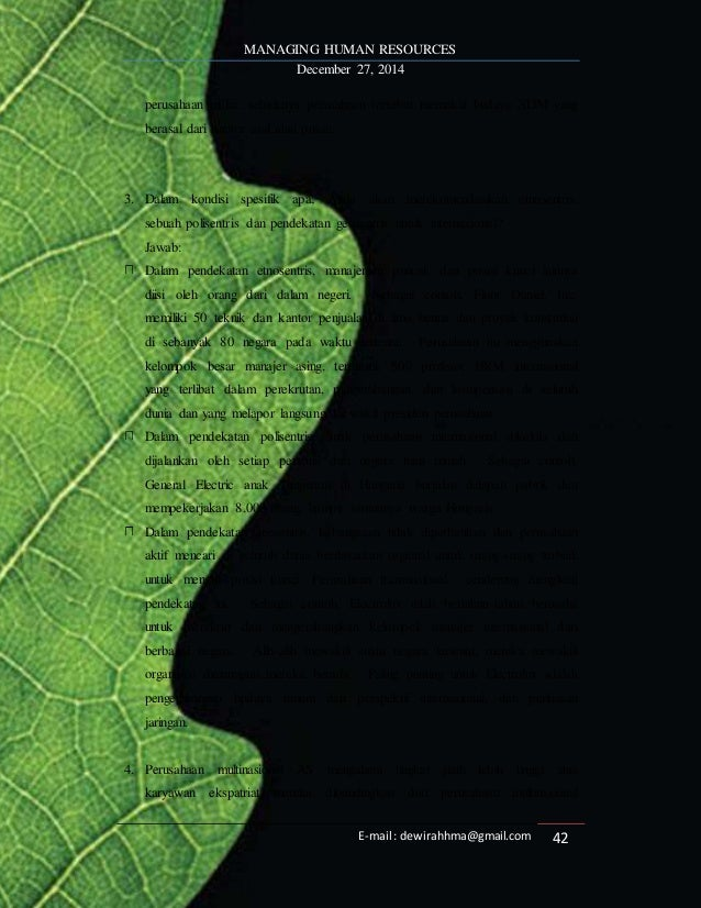 Managing Human Resources By Luis R Gomez Mejia