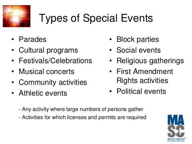 Managing & insuring your event risks