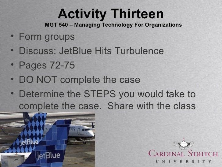 JetBlue Airways: Managing Growth Harvard Case Solution & Analysis