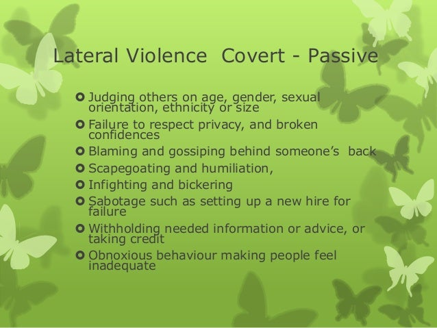 managing lateral violence and its impact on the team la