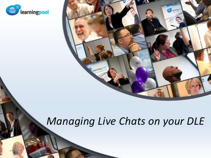 Managing Live Chats on your DLE
