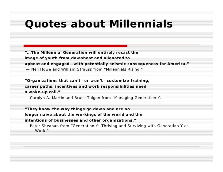 the cycle of generations are millenials americas next great generation Most of the research on millennials in the workplace has been thus there is a recurring cycle of generations in millennials rising: the next great generation.
