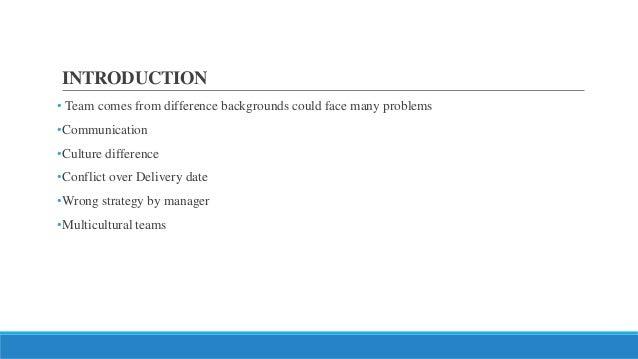 Managing multicultural teams Slide 2