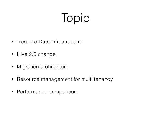 Managing multi tenant resource toward Hive 2.0 Slide 3