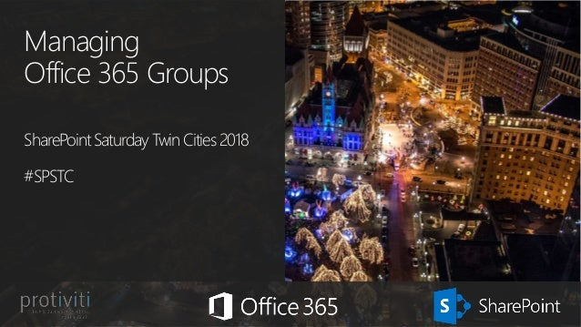 Managing Office 365 Groups