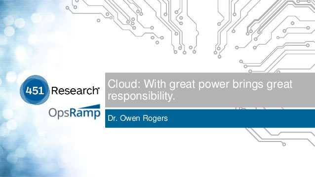 [Webinar] When It Comes To Cloud, Great Power Brings Great Responsibility Slide 3