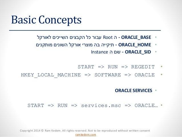 Managing oracle Database Instance Slide 2