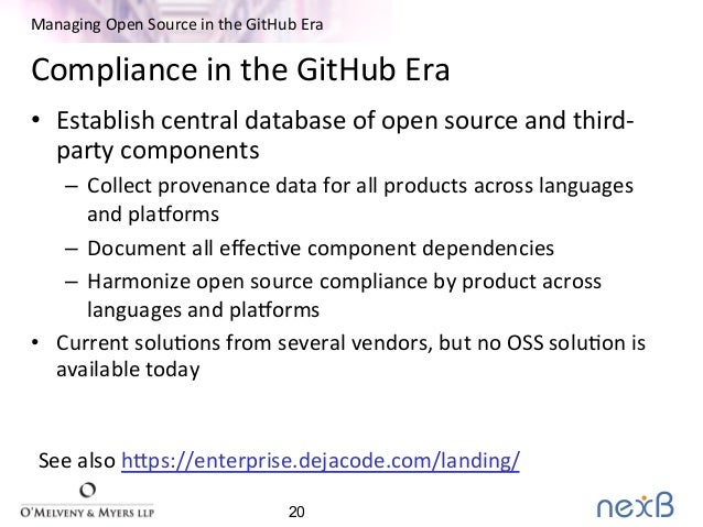 Managing Open Source Software in the GitHub Era