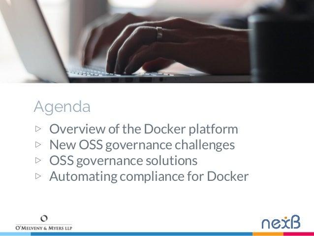 Managing Open Source software in the Docker era  Slide 2