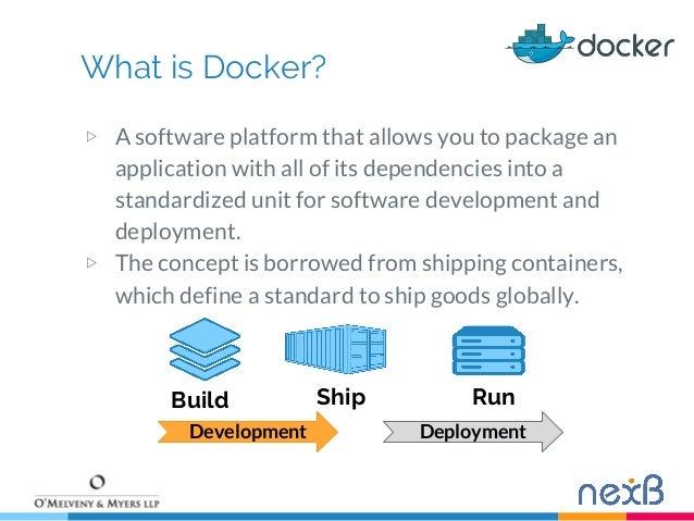Managing Open Source software in the Docker era  Slide 3