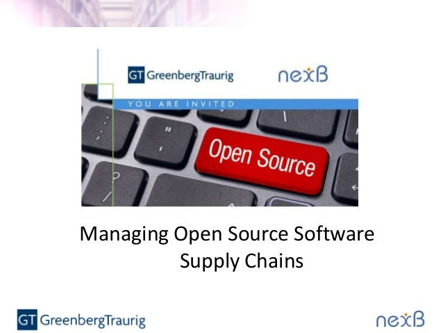 Managing Open Source Software Supply Chains