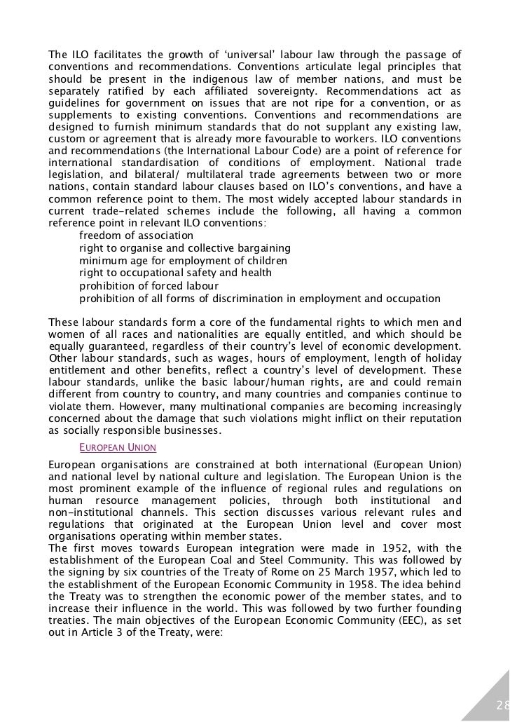 hrm ilo convention 1 ilo: human resources development and training, report iv (1),  orders of the  conference, the international labour office prepared and communi- cated to.