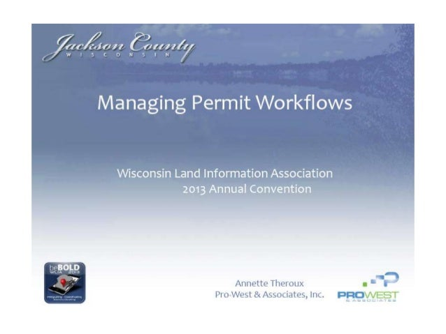 Managing Permit Workflows - Annette Theroux