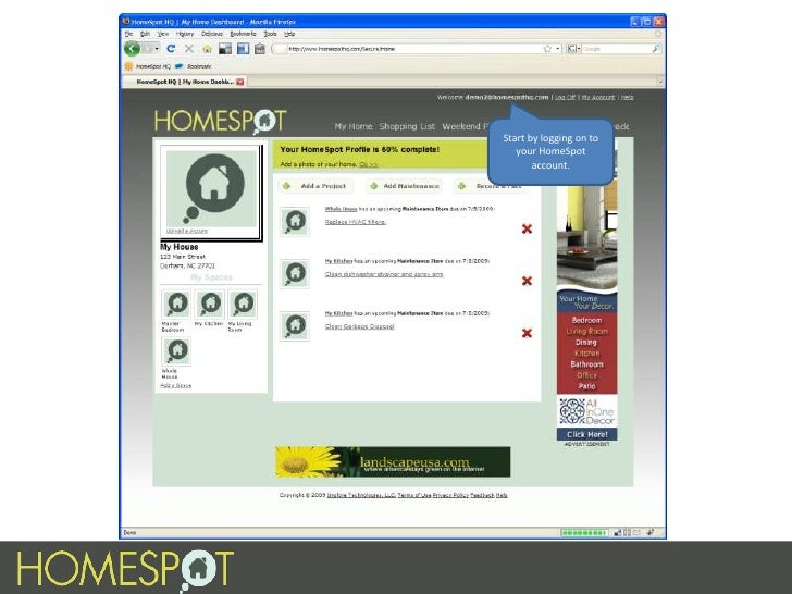 Managing Projects With HomeSpot Slide 3