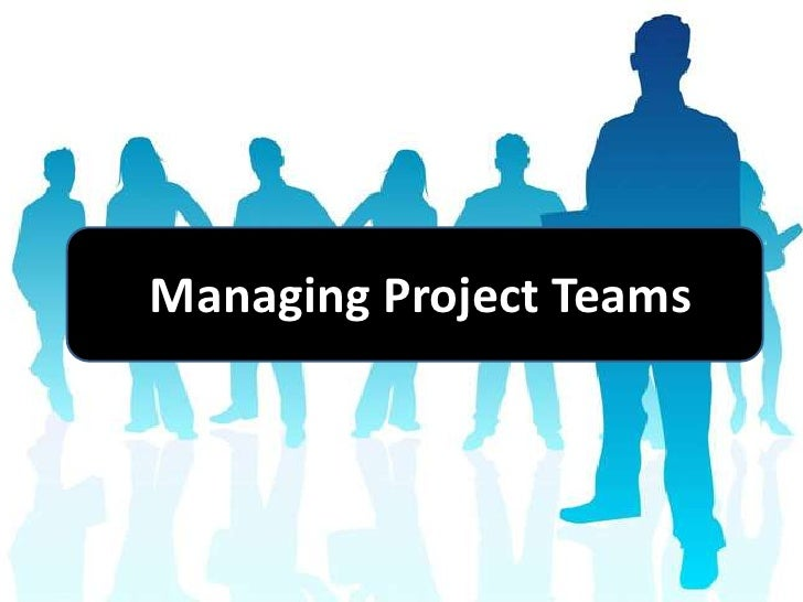 team projects Managing a project team - project manager skills in setting team member roles, team profiling and team ground rules.
