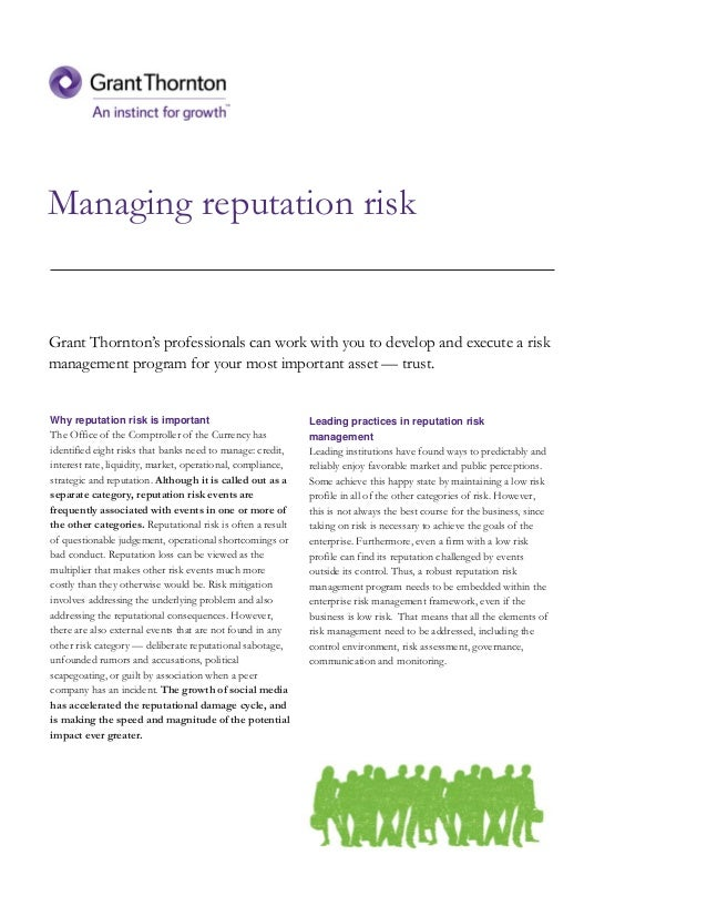 how to develop a risk management Some project managers are more proactive and will develop elaborate risk management programs for their projects  112 risk management process by wiley,.