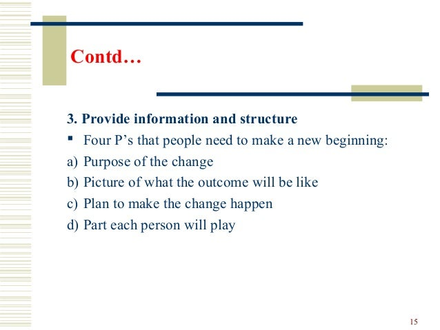 managing resistance to change pdf