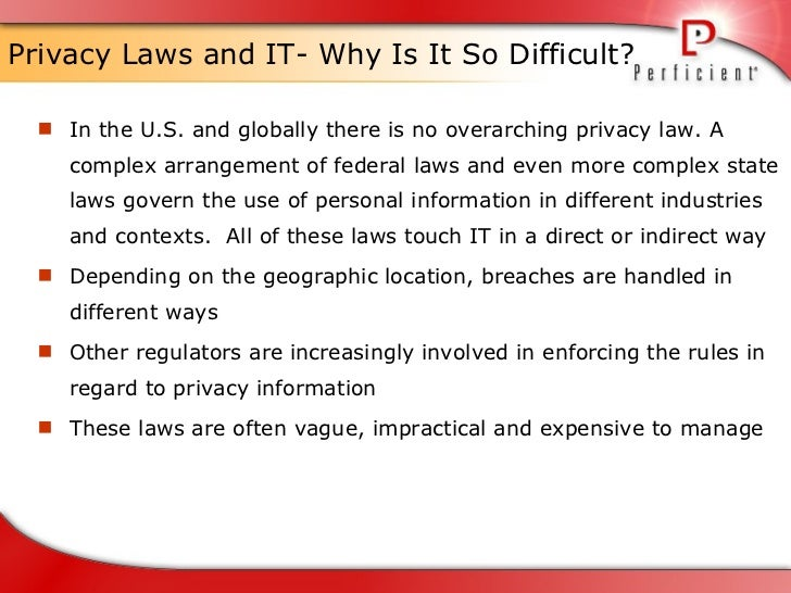 Privacy and Information Technology