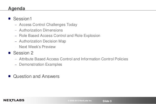 Managing Role Explosion with Attribute-based Access Control - Webinar Series - Part 1 Slide 3