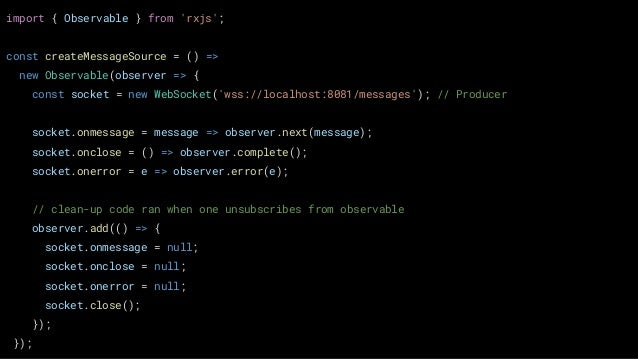 Managing State in React Apps with RxJS by James Wright at