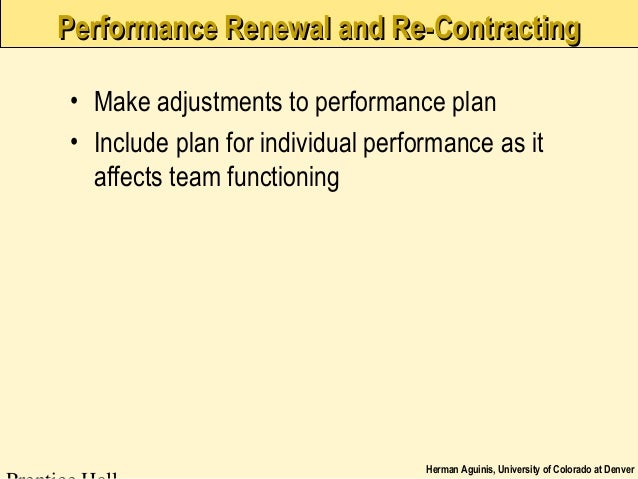 managing team performance Managing the team roles and the natural differences that exist among people when  leadership for high performance teams: facilitation of cps page 6.