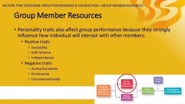 factors influence cohesiveness of teams The fashion in which a team is configured has a strong influence on team  the amount of cohesiveness and inter  factors resulting from team composition.