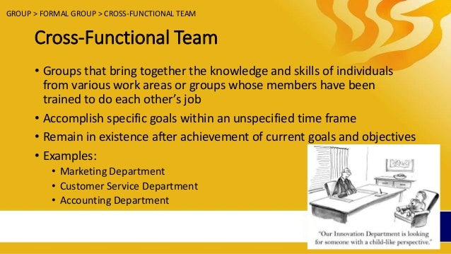 self managed and cross functional teams A cross-functional team is a group of people with different functional expertise working toward a common goal it may include people from finance,  the growth of self-directed cross-functional teams has influenced decision-making processes and organizational structures.