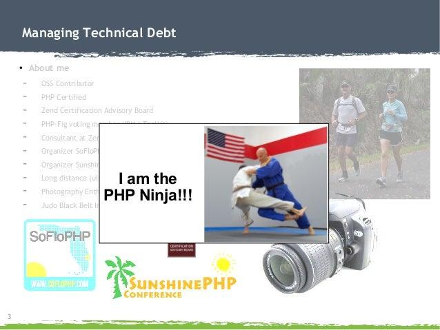 Managing Technical Debt Slide 3