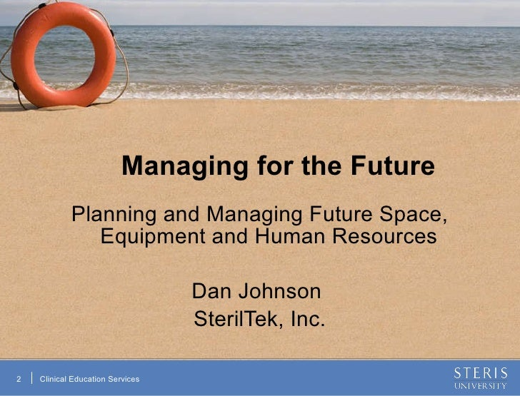 managing for the future Read this article on questia academic journal article public personnel management managing our future: the generation x factor.