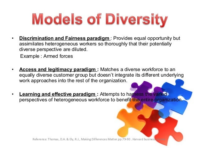 workforce diversity in organizations Numerous research studies have shown how valuing diversity in the workplace has led to higher profits and greater business success.