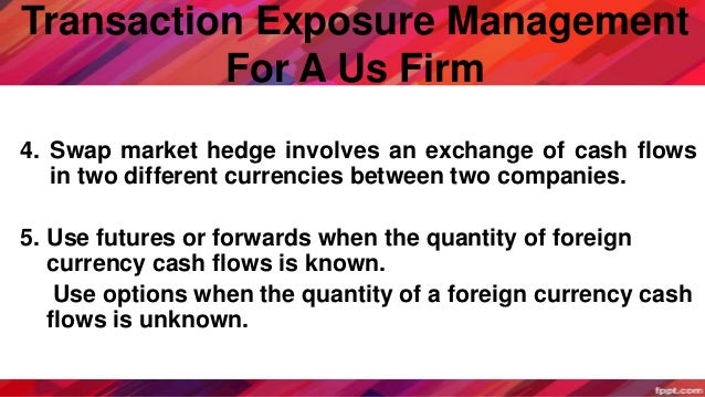 managing economic and transaction exposure simulation Transaction exposure occurs because  managing economic exposure will involve all aspects of the  economic theory suggests that under a floating exchange.